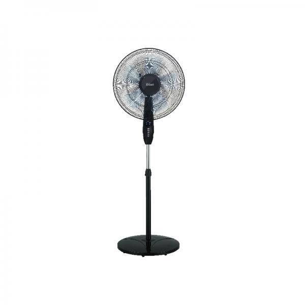 Ventilator cu picior si inaltime reglabila Zilan, 3 viteze, putere 60W,temporizator,model ZLN1178,pozitie fixa sau rotativa, Negru