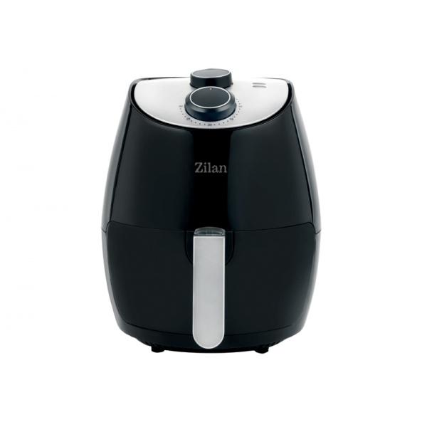 Friteuza Air Fryer, ZILAN ZLN-3598, Negru 1350 W, Capacitate 2.6 L, Timer 30 min,