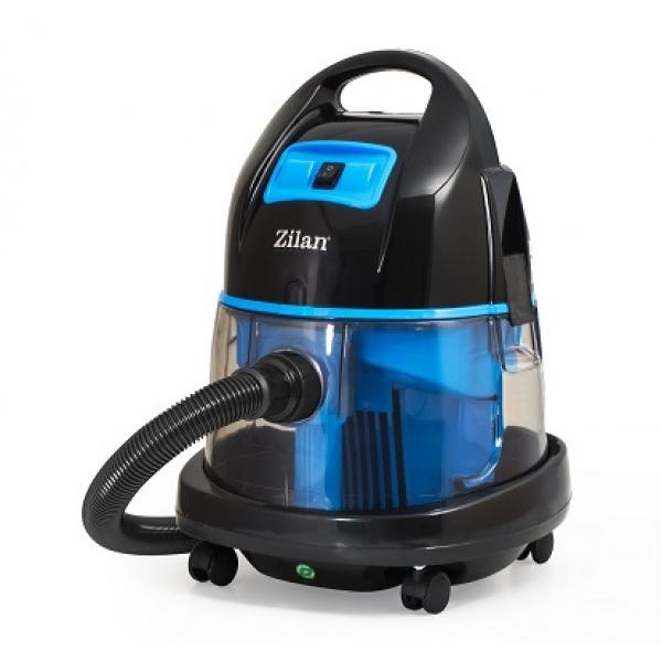Aspirator ZILAN ZLN-8945Albastru cu filtrare prin apa si uscata,1400W,