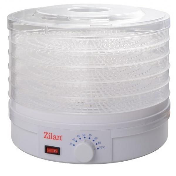 Deshidrator alimente, ZİLAN ZLN-9645, 245W,Alb