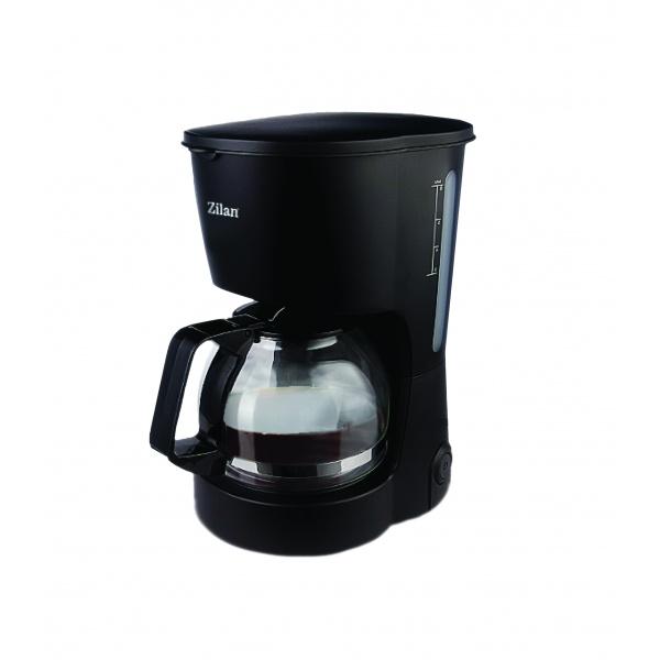 Filtru Cafea ZILAN ZLN-7887, Putere 600W, Capacitate cana 0.6 L, plita pentru pastrarea calda a cafelei