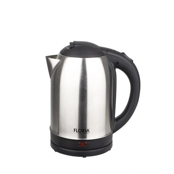 Fierbator inox FLORIA ZLN-2751,Inox/Negru Capacitate 2L, Putere 1500W,
