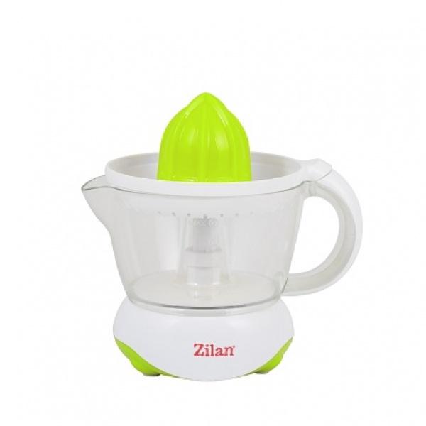Storcator citrice ZILAN ZLN-7825,Alb/Verde Capacitate 0.7L, Cana gradata, Functie reverse, Putere 25W,