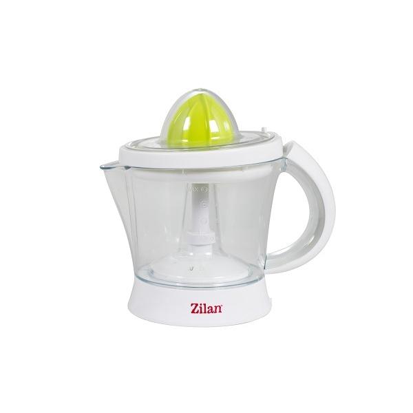 Storcator citrice ZILAN ZLN-7832,Alb/Verde Capacitate 1L, Cana gradata, Functie reverse, Putere 40W,