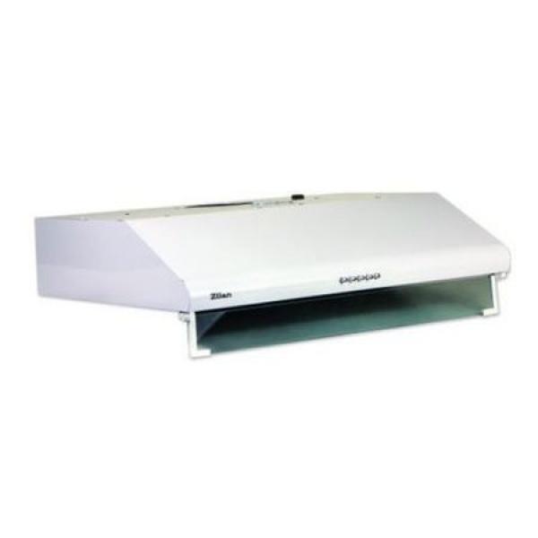 Hota pentru perete ZILAN ZLN-6201,Alb 2x95W, 2 motoare, 3 viteze, filtru permanent aluminiu