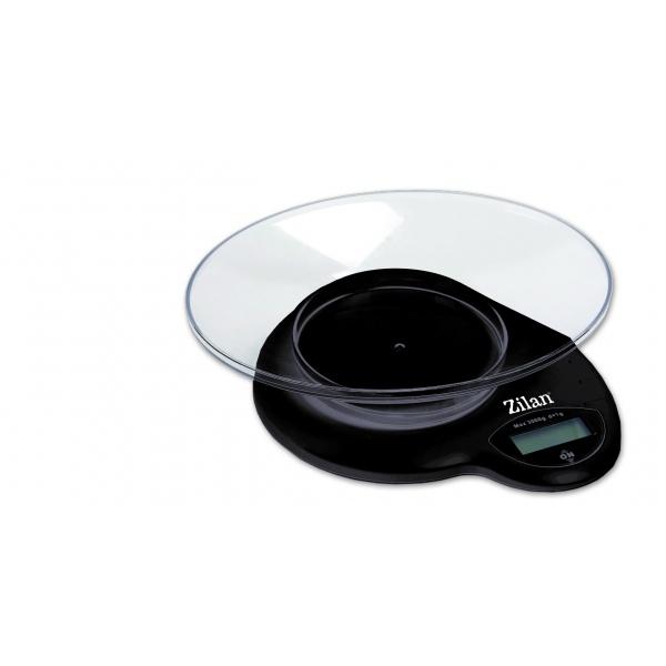 Cantar de bucatarie, Zilan ZLN-7697 ,3 Kg, Display LCD.Negru