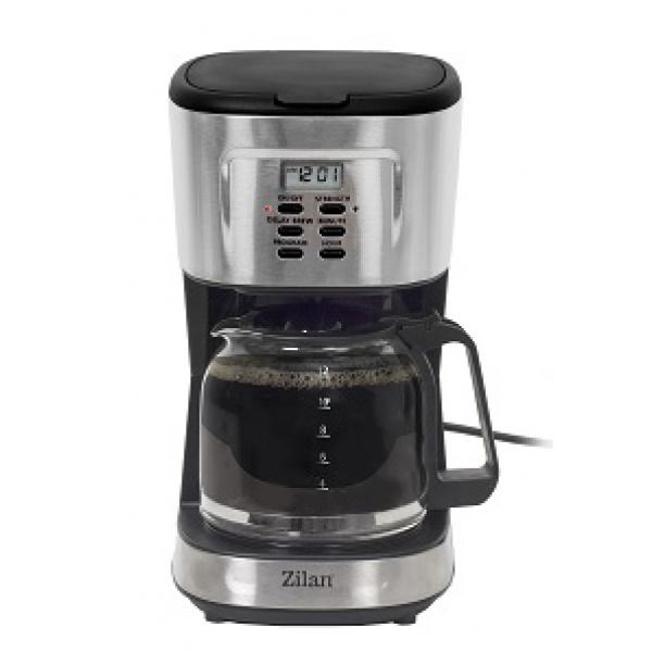 Filtru cafea digital Zilan ZLN-1440, 900 W, 1.5 l, programare si amanare