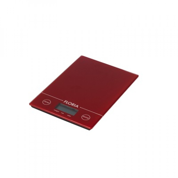 Cantar bucatarie digital Zilan ZLN-1686, 3 kg, Rosu