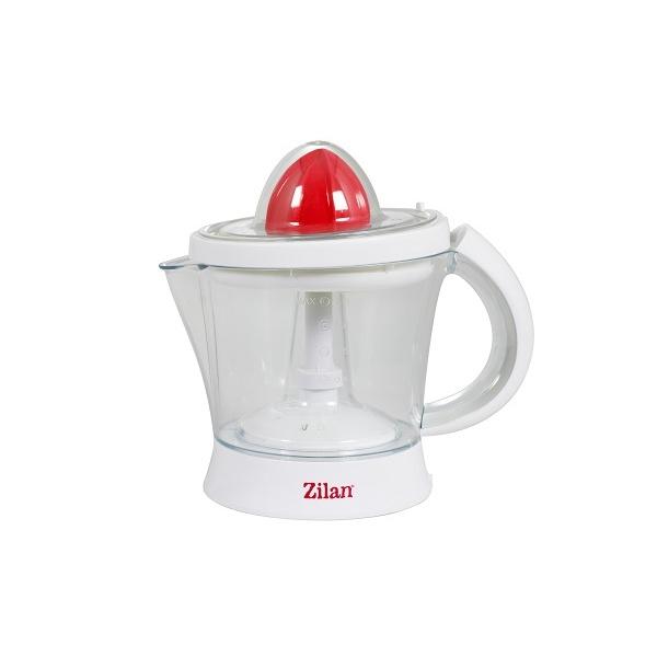 Storcator citrice ZILAN ZLN-7832, Alb/Rosu Capacitate 1L, Cana gradata, Functie reverse, Putere 40W,
