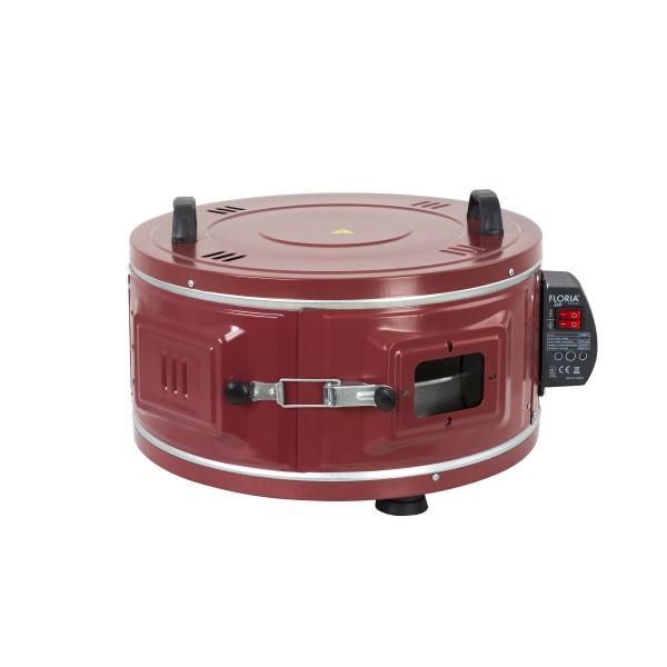 Cuptor rotund FLORIA ZLN-2911, Tava aluminiu 40cm, Putere 1100W, 40L