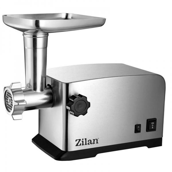 Masina tocat carne Zilan ZLN-2409, 1800 W, functie revers, tava aluminiu, accesorii carnati