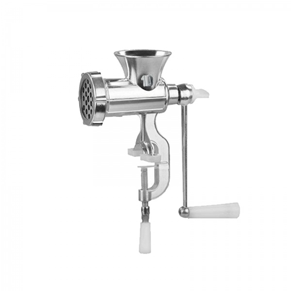 Masina de tocat carne manuala Floria ZLN-2553, aluminiu