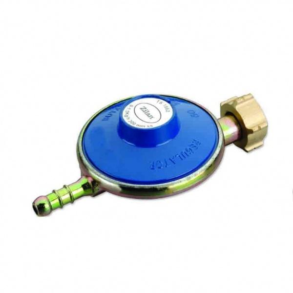 Regulator pentru butelie (ceas butelie), ZILAN ZLN-0100, LPG, Corp metalic, Presiune de iesire 29 mbar