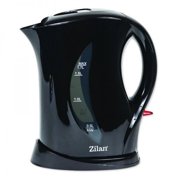 Cana electrica ZILAN ZLN-8496,negru, 1.7L, 1850-2200W,
