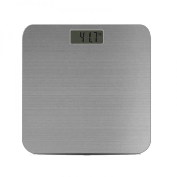 Cantar digital din inox pentru persoane ZILAN ZLN-0368, Platforma inox, Max 150kg, Afisare temperatura camera
