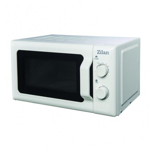 Cuptor cu microunde ZILAN, ZLN-1174, capacitate 20 l, 700 W, , Alb
