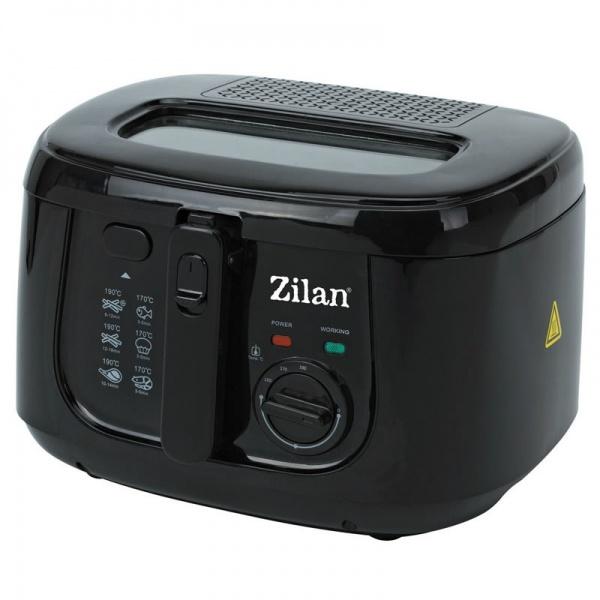 Friteuza Zilan ZLN-2317,1800 W, capacitate ulei 2.5 l, cuva teflonata