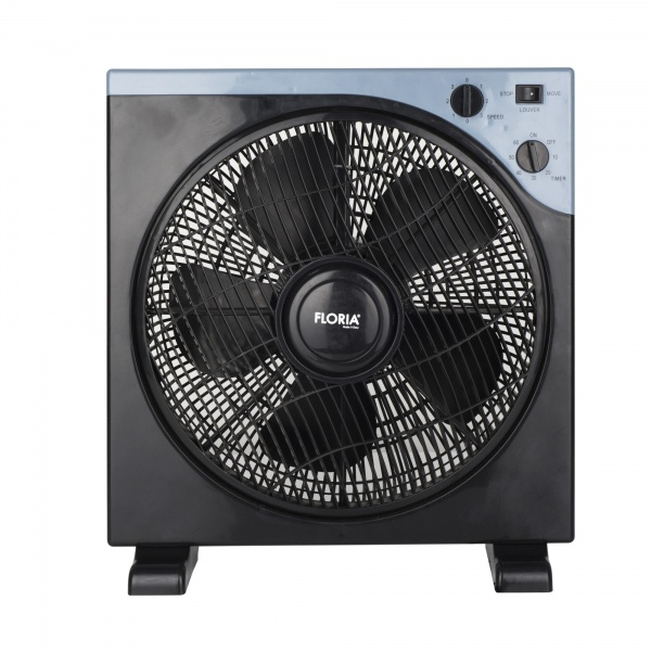 Ventilator patrat Floria ZLN-2355, 40 W, timer, 3 trepte, unghi reglabil