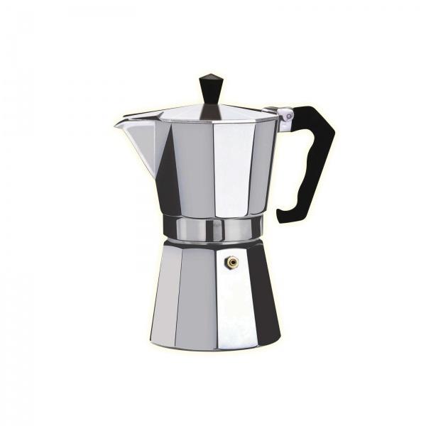 Cafetiera Espresso Floria ZLN-2485, 3 cesti, 150 ml, Ø8 cm, aluminiu, Argintiu