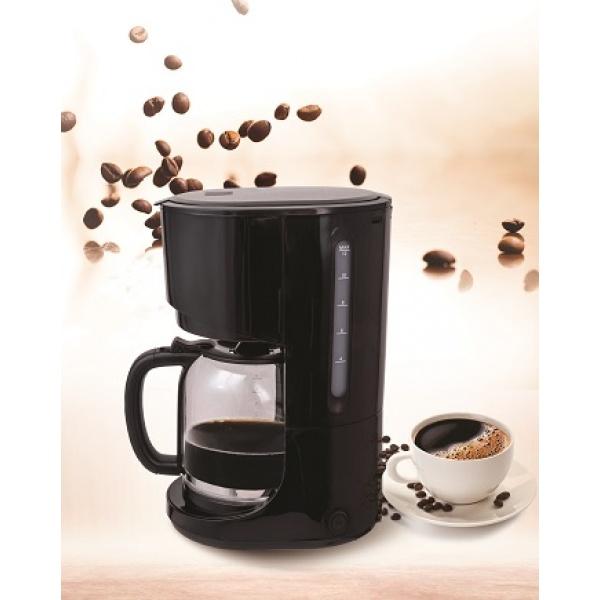 Filtru de cafea ZILAN ZLN-1457, Capacitate 1.5L (12 cesti), Plita pentru pastrarea calda a cafelei, Sistem antipicurare, putere 900W